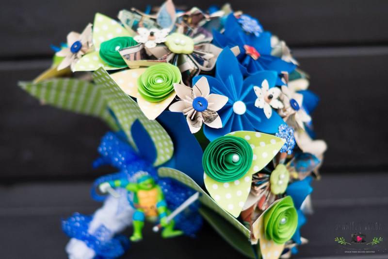 Paper Bouquet Unique