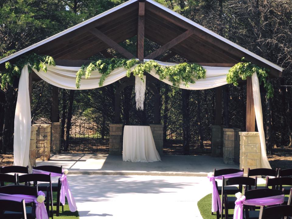 Hidden Creek Gazebo Draping