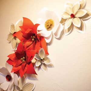 Hand Made paper Flower Arrangement