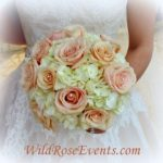Wild-Rose-Events-sahara-roses-with-white-hydrangea-and-rhinestones-bridal-bouquet-300x290