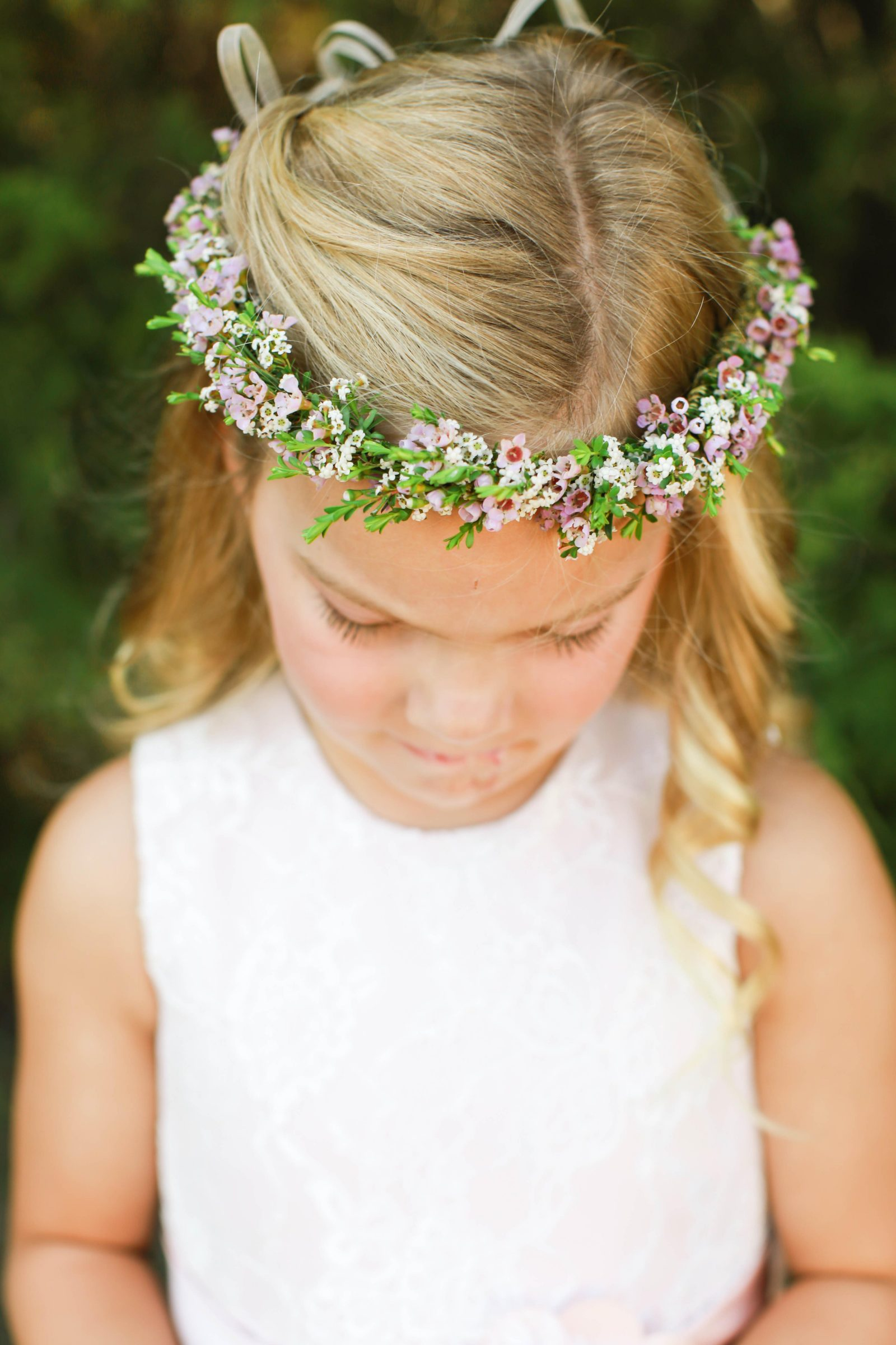 Wild rose events for the flower girls wild rose events flower girl crown izmirmasajfo