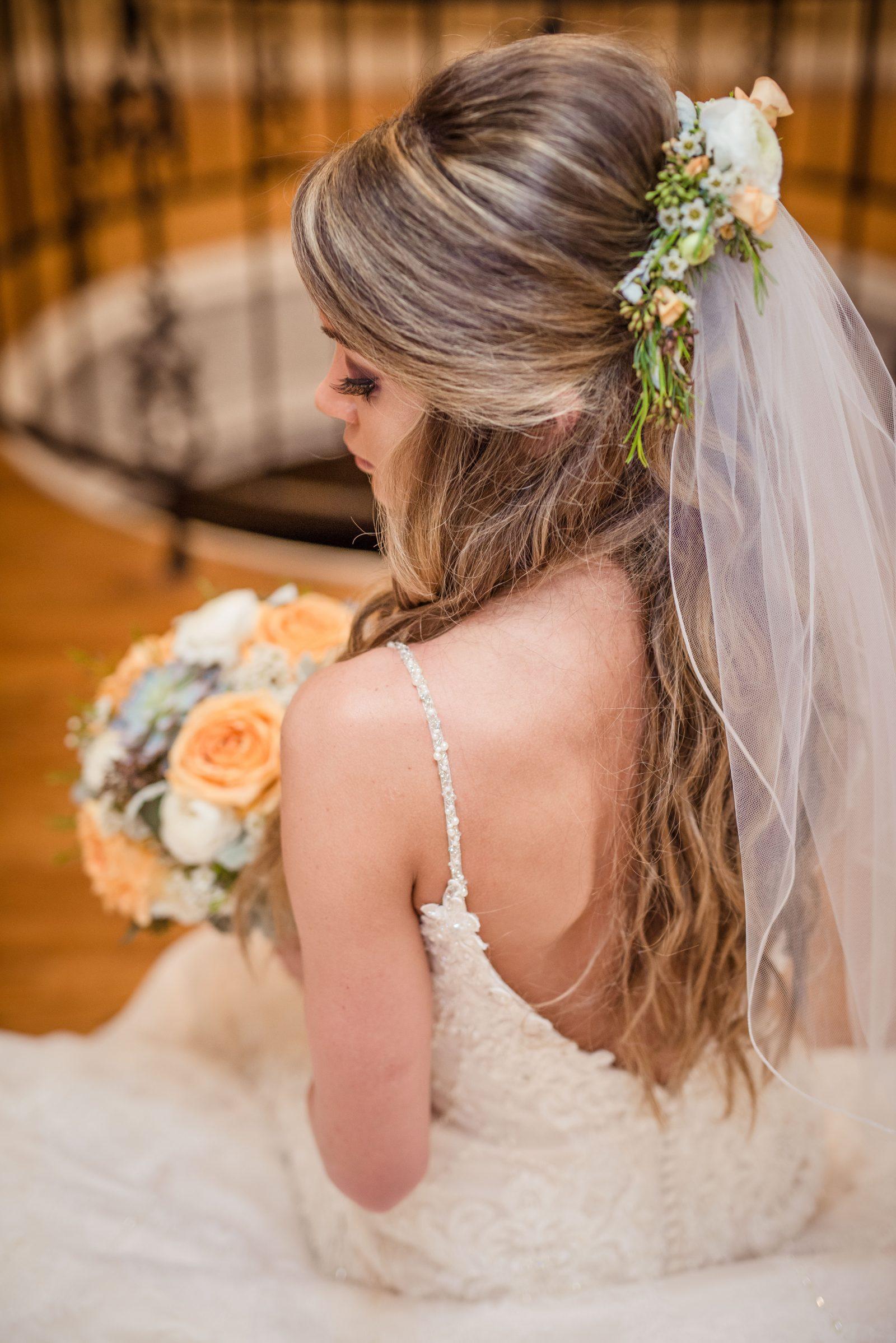 hair flowers – cresent