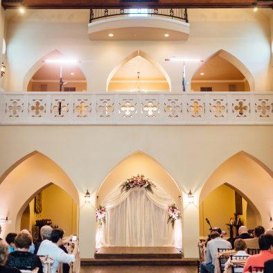 Castle Arch Draping