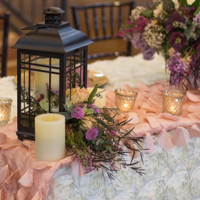 Head Table Centerpiece Lantern