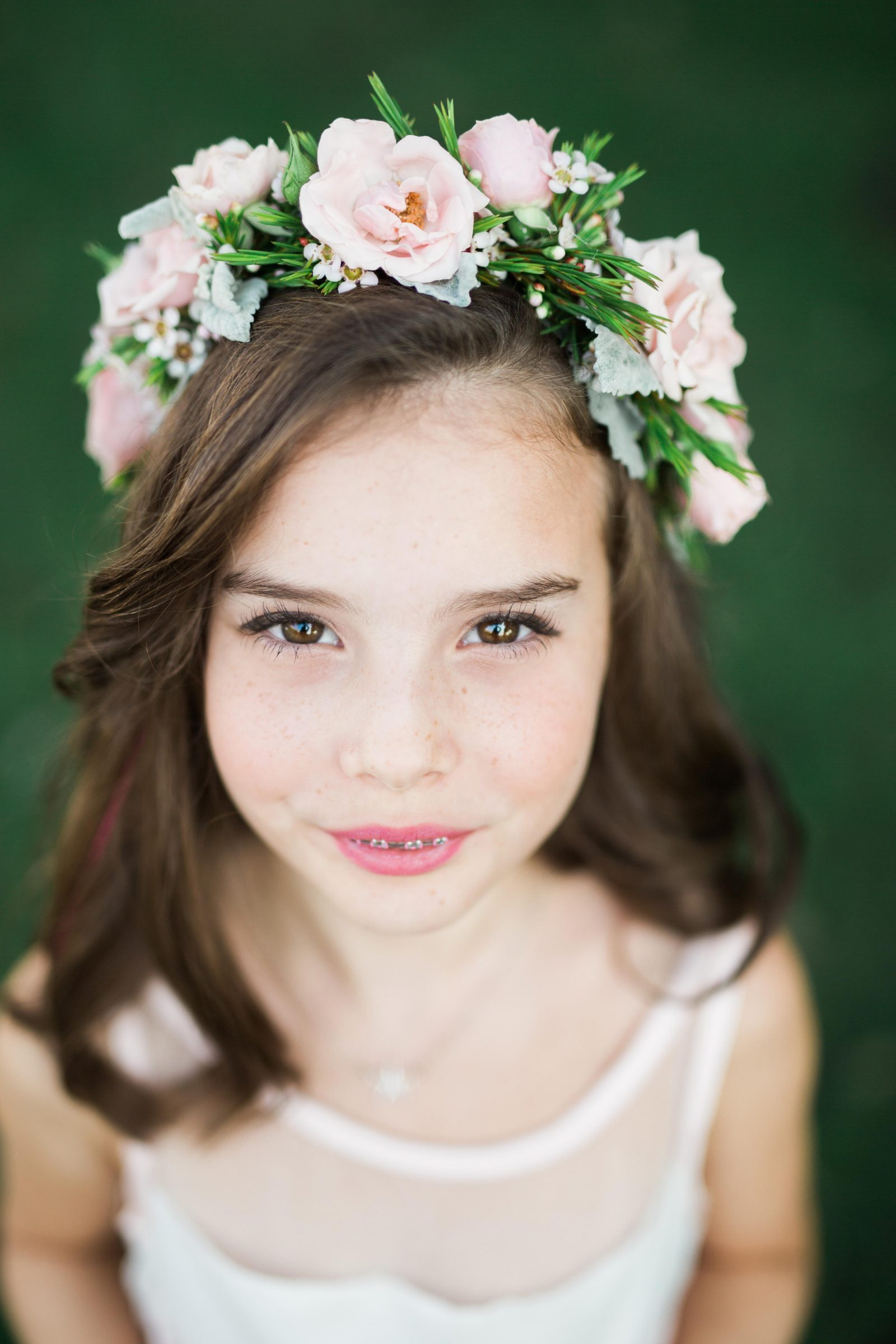 Wild rose events for the flower girls wild rose events flowers girl flower crown izmirmasajfo