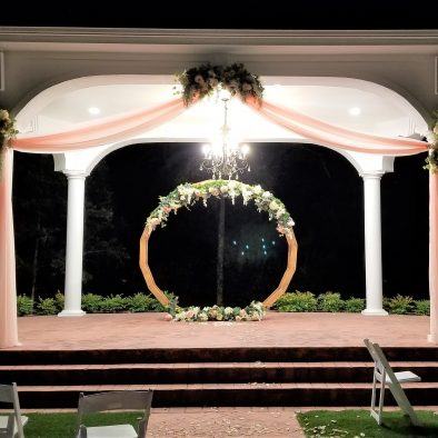 Manor Gazebo Draping Circle Arch