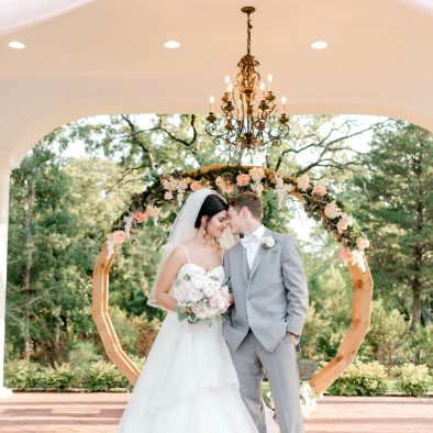 Manor Gazebo Circle Arch Draping