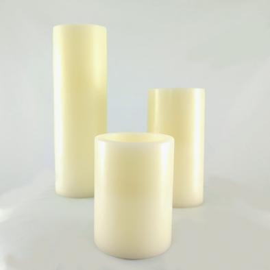 Skinny Pillar Candles
